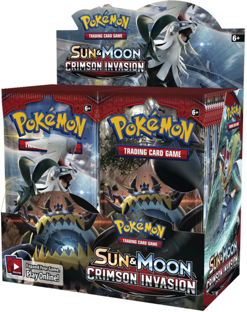 Pokemon Sun & Moon SM4 Crimson Invasion Booster Box