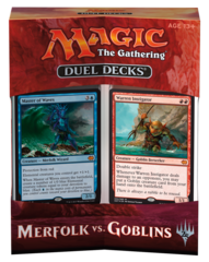 MTG Duel Decks: Merfolk vs Goblins