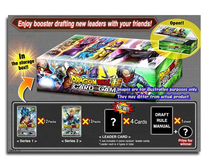 Dragon Ball Super TCG The Tournament of Power Themed Booster Box 24 packs Bandai