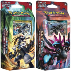 Pokemon Set of 2 Sun & Moon SM4 Crimson Invasion Theme Decks