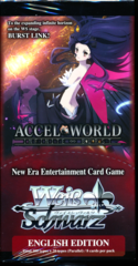 Weiss Schwarz Accel World Infinite Burst Booster Box