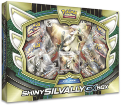 Pokemon Shiny Silvally GX Collection Box