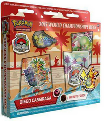 Pokemon 2017 World Championships Deck - Diego Cassiraga (Infinite Force)