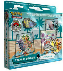 Pokemon 2017 World Championships Deck - Zachary Bokhari (Ice Path FTW)