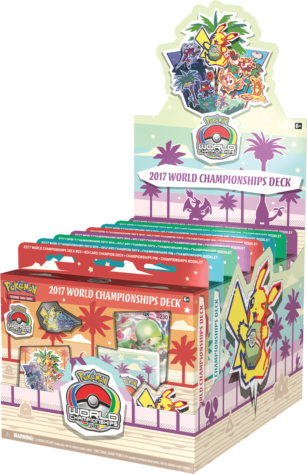 Pokemon 2017 World Championships Decks - Display Box