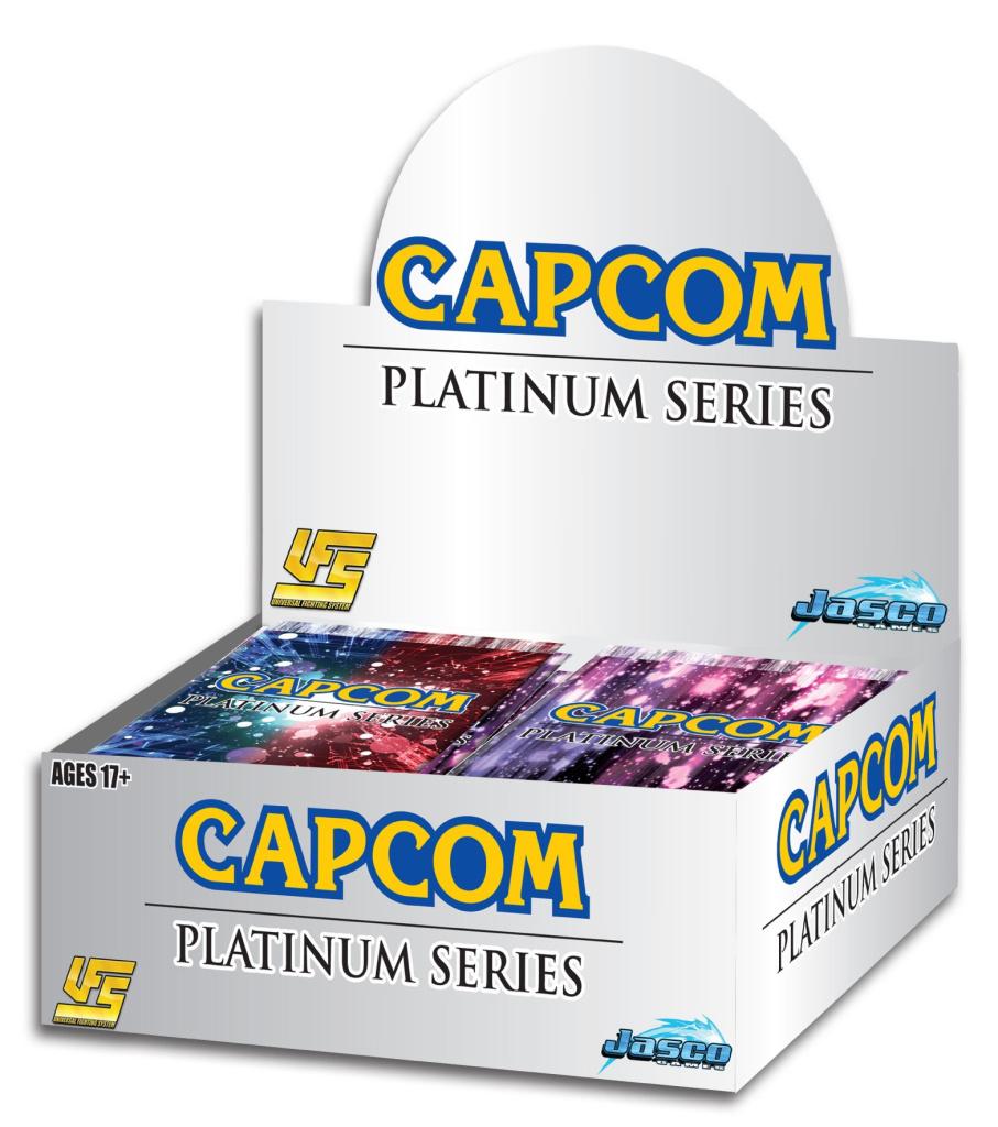 UFS Capcom Platinum Series One Booster Pack Jasco Universal Fighting System TCG