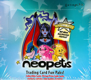 Neopets Card Game TCG Fun Paks 24-Booster Pack Lot