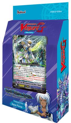 Cardfight!! Vanguard VGE-G-TD04 Blue Cavalry of the Divine Marine Spirits