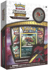 Pokemon Shining Legends: Zoroark Pin Collection