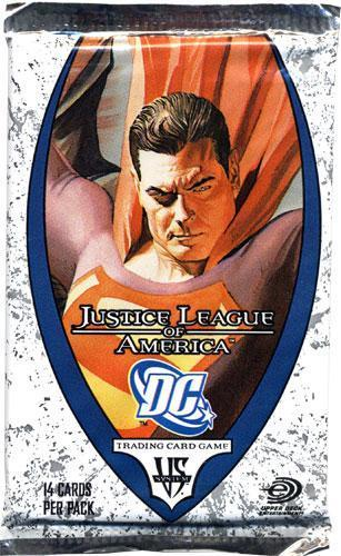 VS System Justice League of America Booster Pack
