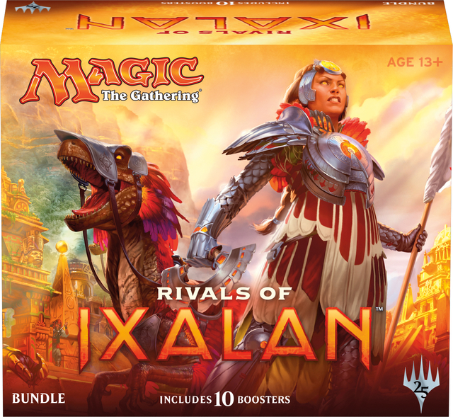 MTG Rivals of Ixalan Bundle Fat Pack