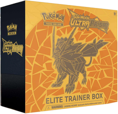 Pokemon Sun & Moon SM5 Ultra Prism Elite Trainer Box: Dusk Mane Necrozma