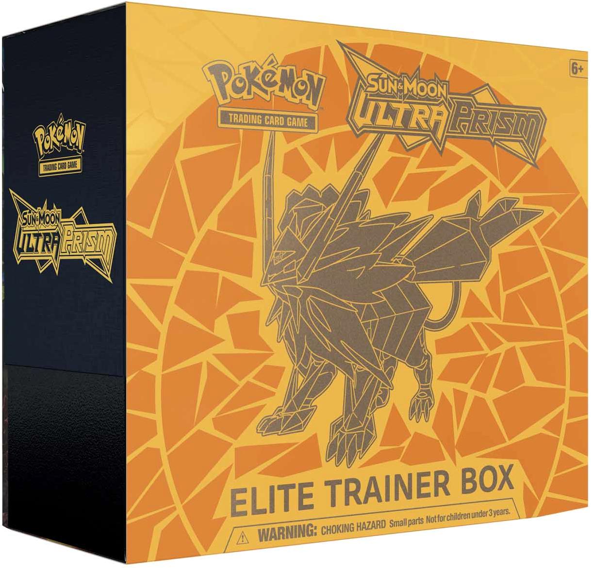 NEW Pokemon EMPTY Ultra Prism Elite Trainer Boxes Dusk Mane Dawn Wings Necrozma