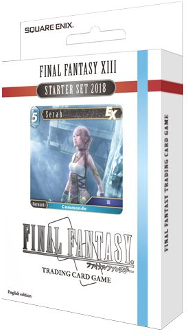 Final Fantasy TCG Fire and Ice XIII 2018 Starter Deck Set