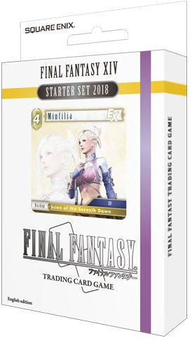 Final Fantasy TCG Earth and Lightning XIV 2018 Starter Deck Set