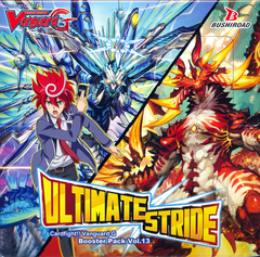 Cardfight!! Vanguard VGE-G-BT13 Ultimate Stride Booster Box