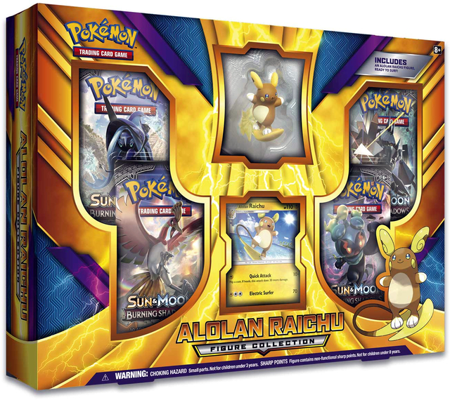 Pokemon Alolan Raichu Figure Collection