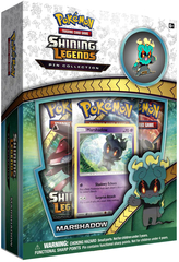 Pokemon Shining Legends: Marshadow Pin Collection