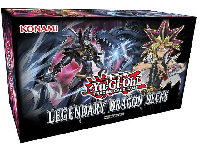 Yu-Gi-Oh Legendary Dragon Decks Box Set