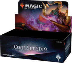 MTG Magic Core 2019 Set Booster Box -- Release Date: July 13, 2018