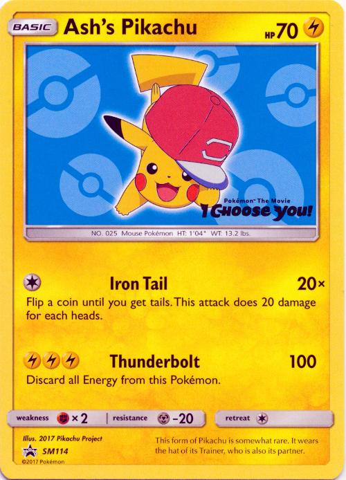 Pokemon The Movie i Choose You promo card pack