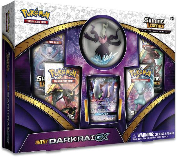 Pokemon Shiny Darkrai GX Shining Legends Box Sealed
