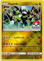 Zygarde 100/147 Reverse Holo League Stamp Promo - 2017 Pokemon League