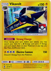 Vikavolt 52/149 Sheen Holo League Stamp Promo - 2017 Pokemon League