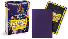 Dragon Shield Matte Japanese Mini-Size Sleeves - Purple - 60ct
