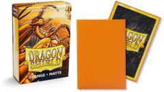 Dragon Shield Matte Japanese Mini-Size Sleeves - Orange - 60ct