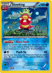 Slowking 21/122 Cosmos Holo Promo - Legacy Evolution Pin Collection