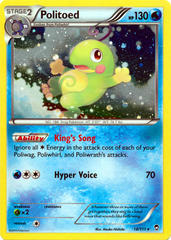 Politoed 18/111 Cosmos Holo Promo - Legacy Evolution Pin Collection