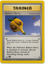 Balloon Berry - 60/64 - Uncommon - 1st Edition