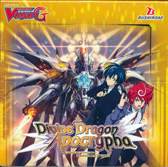 Cardfight!! Vanguard VGE-G-BT14 Divine Dragon Apocrypha Booster Box