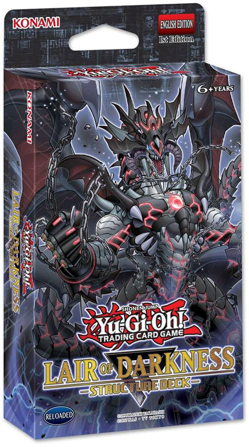 Yu-Gi-Oh Structure Deck: Lair of Darkness