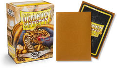 Dragon Shield Matte Standard-Size Sleeves - Gold - 100ct