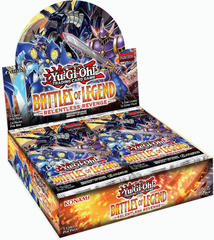 Yu-Gi-Oh Battles of Legend: Relentless Revenge 1st Edition Booster Box
