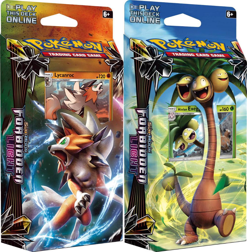Pokemon set of 2 sun moon sm6 forbidden light theme decks pokemon set of 2 sun moon sm6 forbidden light theme decks mozeypictures Image collections