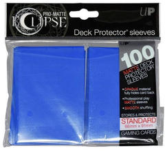 Ultra Pro Standard Size PRO-Matte Eclipse Sleeves - Pacific Blue - 100ct