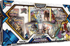 Pokemon Legends of Johto GX Premium Collection Box
