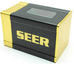 Boxgods Seer Black & Gold Deck Box