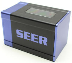 Boxgods Seer Black & Purple Deck Box
