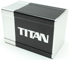 Boxgods Titan Black & Silver Deck Box