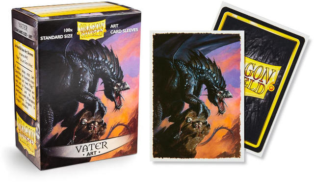 Dragon Shield Classic Art Standard-Size Sleeves - Vater -7124
