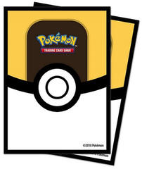 Ultra Pro Standard Size Pokemon Sleeves - Ultra Ball - 65ct