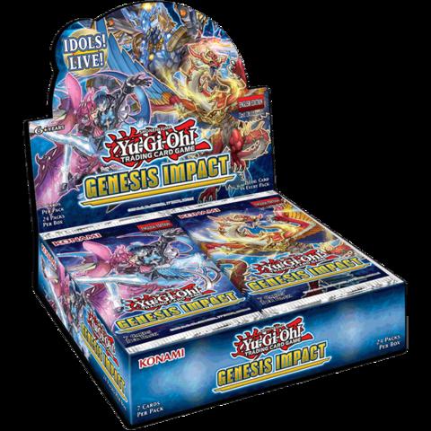 Yu-Gi-Oh Genesis Impact 1st Edition Booster Box