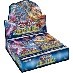 Yu-Gi-Oh Genesis Impact 1st Edition Booster Box
