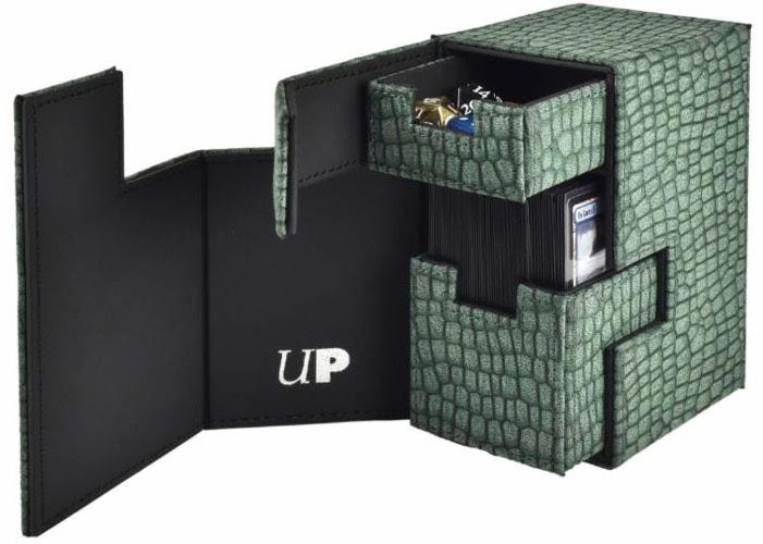 SILVER-GREY M2 Deck Box Premium Card Storage Ultra Pro MTG Yugioh Pokemon +
