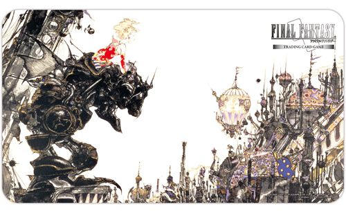 Final Fantasy TCG Playmat - Final Fantasy VI Terra Playmat