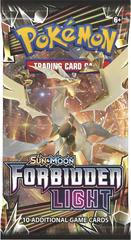 Pokemon Sun & Moon SM6 Forbidden Light Booster Pack